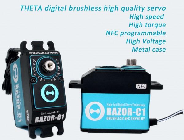 THETA RAZOR-C1 20mm 48kg/cm Brushless